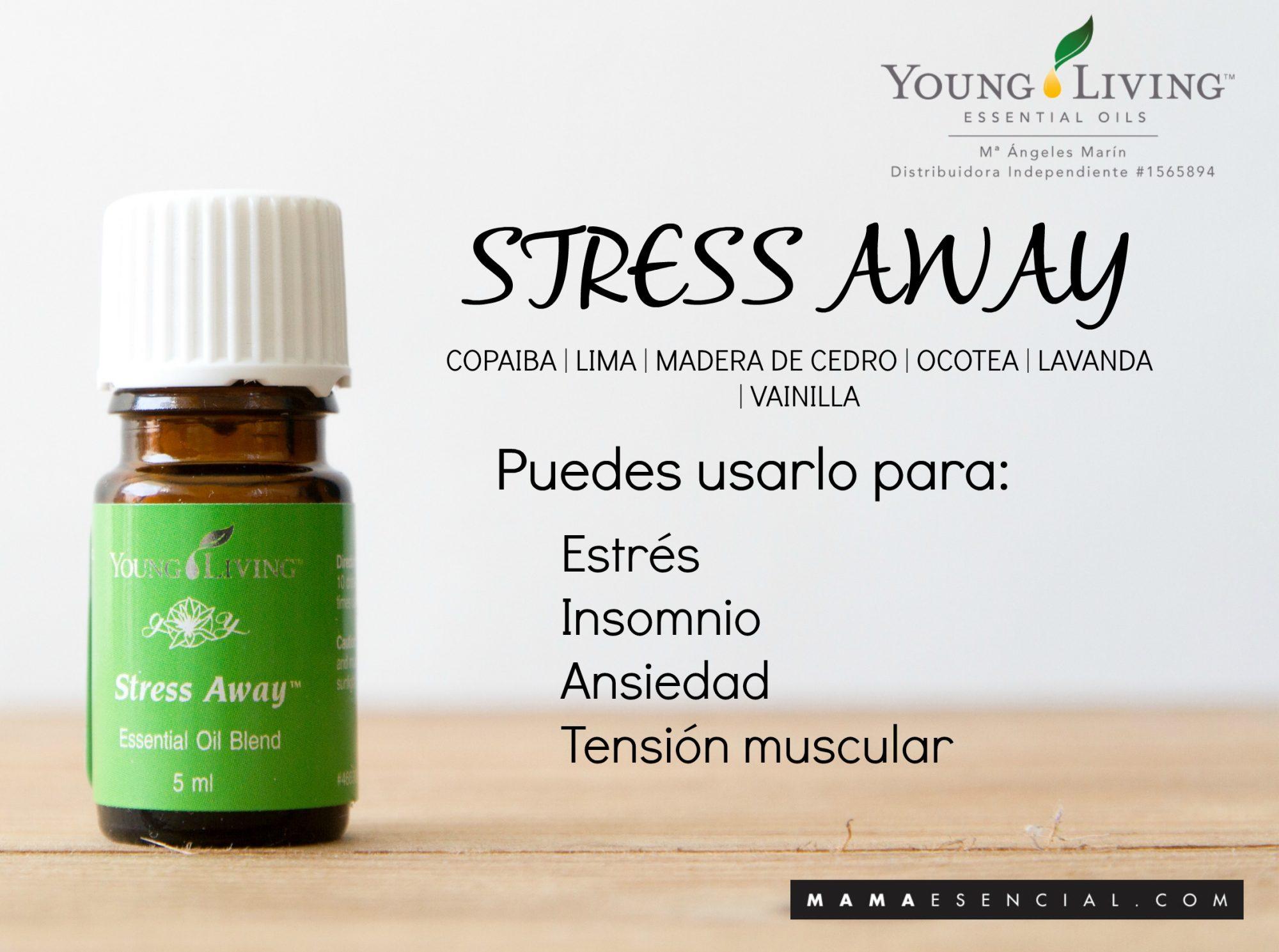 Mezclas de aceites esenciales Stress Away