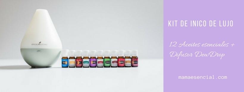 Kit Inicio de Lujo de aceites esenciales