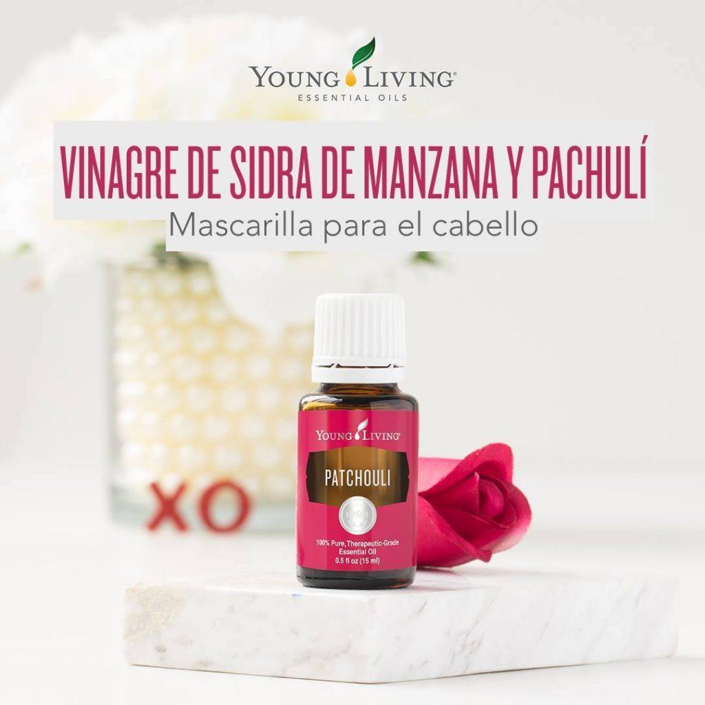 Mascarilla aceite esencial pachuli