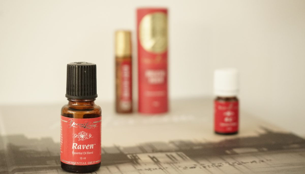 RC, Raven y Breathe Again de Young Living